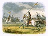 William the Lion taken prisoner