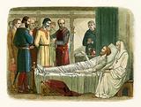 Richard pardons the archer who shot him
