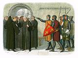 The monks of Christchurch expelled