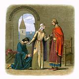Richard pardons his brother John