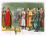 King Henry III and his Parliament
