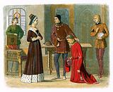 The earl of Warwick submits to queen Margaret
