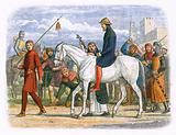 Thomas, Earl of Lancaster, being led to execution