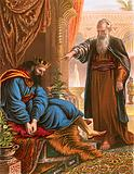 David and the prophet Nathan