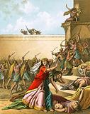The Jews slay their enemies