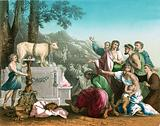 The worship of the Golden Calf