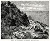 View of the north side of the island of Salsette, Bombay