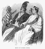 Group of Burmese nobles