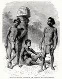 Group of Sontals, natives of the Rajmahal mountains