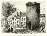 The tower of Louis D'Outremer at Laon (destroyed in 1831)
