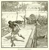 The flight of Caius Gracchus