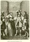 Charles II. Introducing Lady Castlemaine at Court.