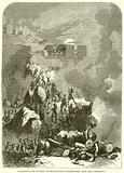 Storming of the Fortress Ciudad Rodrigo by the English, under Lord Wellington