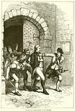 Huddy led from prison to be hanged