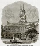 House at Philadelphia in which the first congresses were held