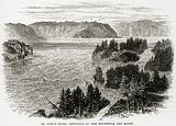 St John's River, frontiers of new Brunswick and Maine