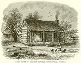 Early home of Abraham Lincoln, Gentryville, Indiana