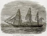 """The """"Hartford"""" (Admiral Farragut's Flag-Ship)"""