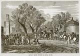 Sultan of Bagirmi entering his capital, Mas-Ena