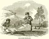 Children cradling