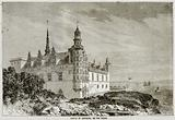 Castle of Kronborg, on the Sound