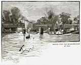 Bridge over the Murrumbidgee at Hay