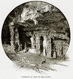 Interior of one of the Caves
