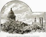 The Dome of the Pantheon, Spire of St Etienne du Mont, and Tour de Clovis