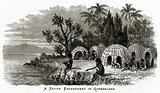 A Native Encampment in Queensland