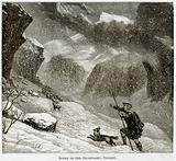Scene in the Grampians: Stormy