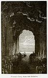 Fingal's Cave, from the Interior