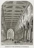 Interior of the Cathedral of Monreale