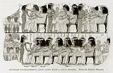 Egyptian Entertainment, each guest with a Lotus Flower