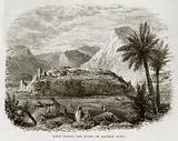 Wady Feiran and ruins of Ancient Town