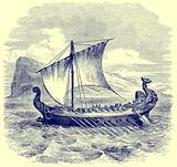 A Phoenician Galley