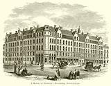 The Block of Peabody's Buildings, Spitalfields