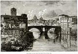 The Island in the Tiber, and Bridge of Quattro Capi
