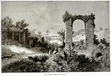 The Palatine from the Aventine