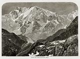 Monte Rosa from the Monte Moro