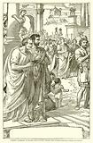 Street Pageant in Rome – Returning from the Games. – Brutus, Cassius, and Caesar.