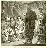 Meeting of First Christians at Rome