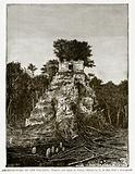 Architecture of the Toltecs. – Temple and Arch at Tikal
