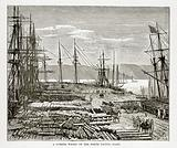A Lumber Wharf on the North Pacific Coast