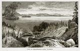 View of Yellowstone Lake, Wyoming