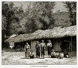 A Native Hut in Formosa