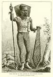 War Costume of the Natives of the Caroline Islands