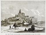 """The """"Tomb of Jonah,"""" near the Mosque, on the Artificial Mound of Nebbi Yunis, Nineveh"""