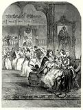 Prince Charles with Henrietta Maria at Paris
