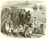 Puritans Embarking for the Colonies