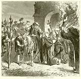 Arrival of Wolsey at Leicester Abbey